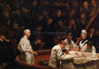 THOMAS EAKINS THE AGNEW CLINIC ARTIST PAINTING REPRODUCTION HANDMADE OIL CANVAS