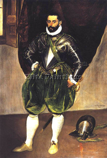 GREEK EL GRECO VINCENZO ANASTAGI ARTIST PAINTING REPRODUCTION HANDMADE OIL REPRO