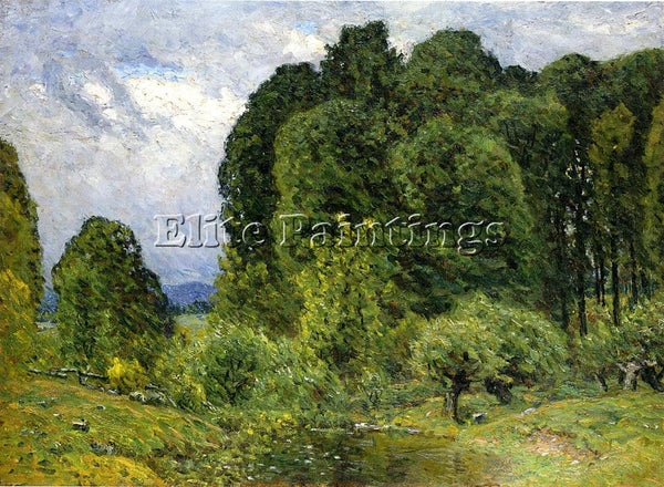 JOHN JOSEPH ENNEKING SPRING AFTERNOON ARTIST PAINTING REPRODUCTION HANDMADE OIL