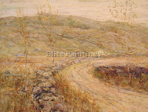 ERNEST LAWSON ROAD IN SPRING ARTIST PAINTING REPRODUCTION HANDMADE CANVAS REPRO