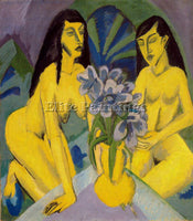 ERNST LUDWIG KIRCHNER KIRCH2 ARTIST PAINTING REPRODUCTION HANDMADE CANVAS REPRO