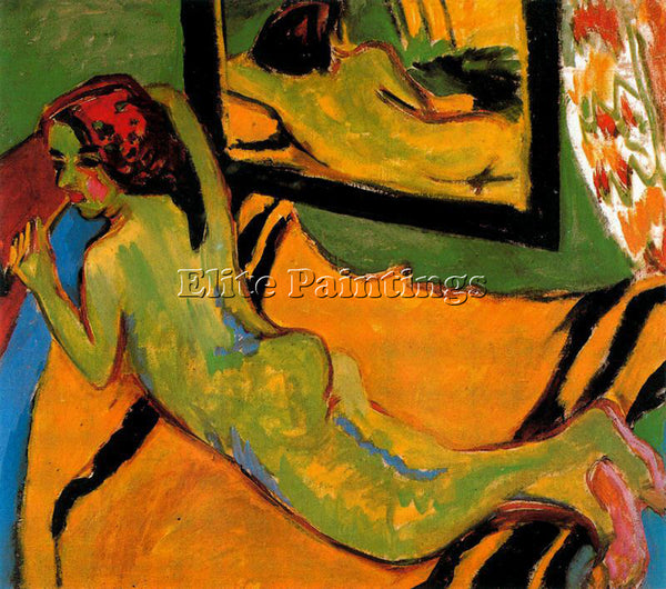 ERNST LUDWIG KIRCHNER KIRCH5 ARTIST PAINTING REPRODUCTION HANDMADE CANVAS REPRO