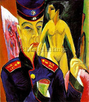 ERNST LUDWIG KIRCHNER KIRCH20 ARTIST PAINTING REPRODUCTION HANDMADE CANVAS REPRO