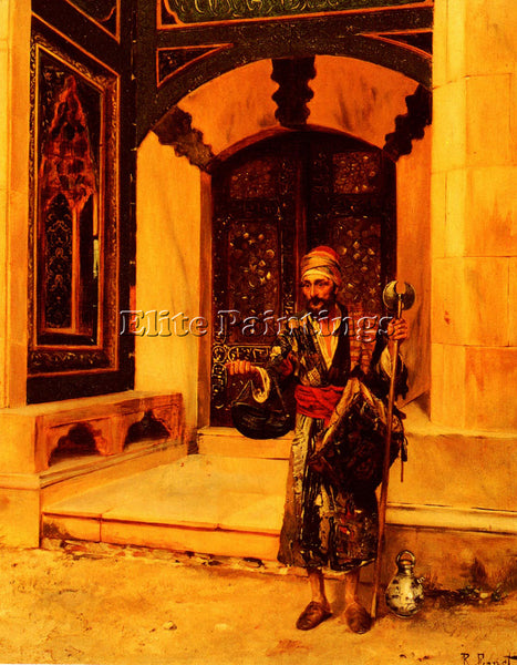 RUDOLF ERNST THE BEGGAR ARTIST PAINTING REPRODUCTION HANDMADE CANVAS REPRO WALL