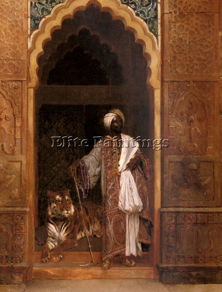 RUDOLF ERNST THE PALACE GUARD ARTIST PAINTING REPRODUCTION HANDMADE CANVAS REPRO