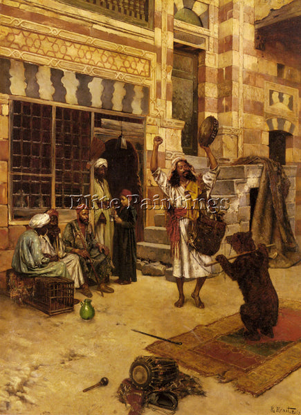 RUDOLF ERNST AN AFTERNOON SHOW ARTIST PAINTING REPRODUCTION HANDMADE OIL CANVAS