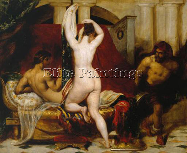 WILLIAM ETTY ETTY1 ARTIST PAINTING REPRODUCTION HANDMADE CANVAS REPRO WALL DECO