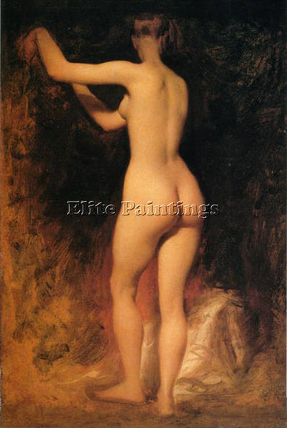 WILLIAM ETTY NUDE STUDY ARTIST PAINTING REPRODUCTION HANDMADE CANVAS REPRO WALL