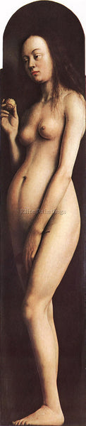 JAN VAN EYCK GHENT ALTARPIECE EVE ARTIST PAINTING REPRODUCTION HANDMADE OIL DECO