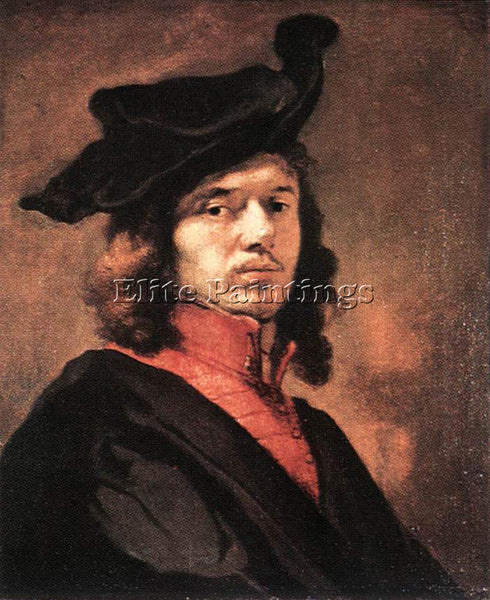 CARE FABRITIUS SELF PORTRAIT ARTIST PAINTING REPRODUCTION HANDMADE CANVAS REPRO