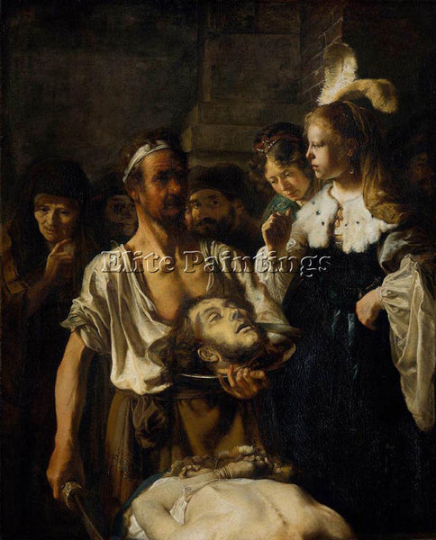 CARE FABRITIUS THE BEHEADING OF ST JOHN THE BAPTIST ARTIST PAINTING REPRODUCTION