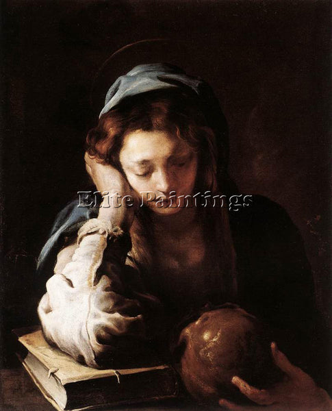 DOMENICO FETI THE REPENTANT ST MARY MAGDALENE ARTIST PAINTING REPRODUCTION OIL