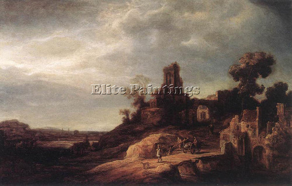 GOVERT TEUNISZ FLINCK LANDSCAPE ARTIST PAINTING REPRODUCTION HANDMADE OIL CANVAS