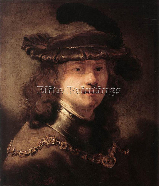 GOVERT TEUNISZ FLINCK PORTRAIT OF REMBRANDT ARTIST PAINTING HANDMADE OIL CANVAS