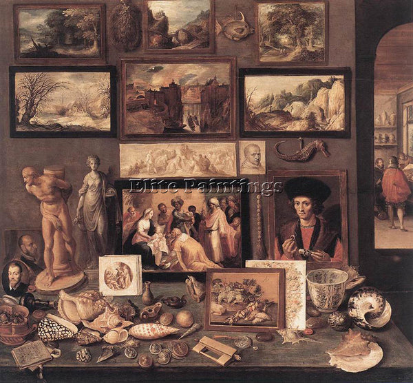 FRANS THE YOUNGER FRANCKEN  II ART ROOM ARTIST PAINTING REPRODUCTION HANDMADE