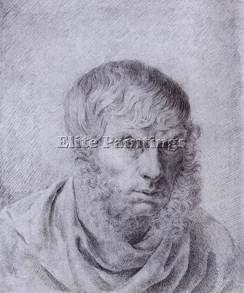 CASPAR DAVID FRIEDRICH SELF PORTRAIT 1810 ARTIST PAINTING REPRODUCTION HANDMADE