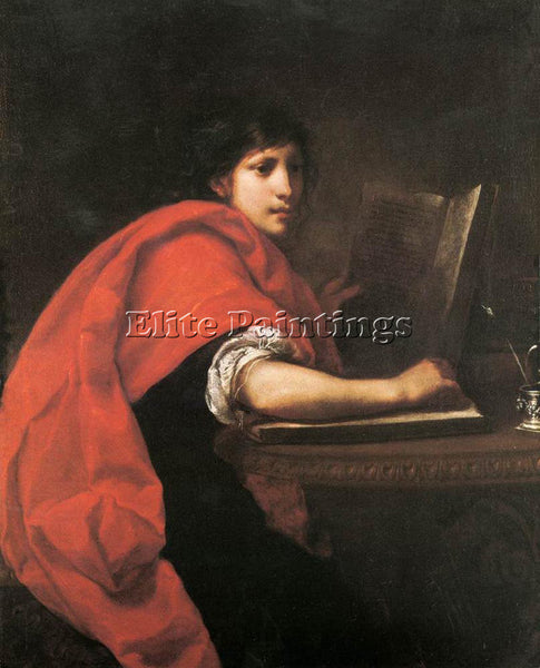 FRANCESCO FURINI ST JOHN THE EVANGELIST ARTIST PAINTING REPRODUCTION HANDMADE