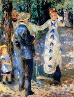 RENOIR FAMILLE ARTIST PAINTING REPRODUCTION HANDMADE OIL CANVAS REPRO WALL  DECO