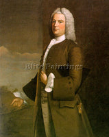 AMERICAN FEKE ROBERT AMERICAN APPROX 1710 1750 ARTIST PAINTING REPRODUCTION OIL