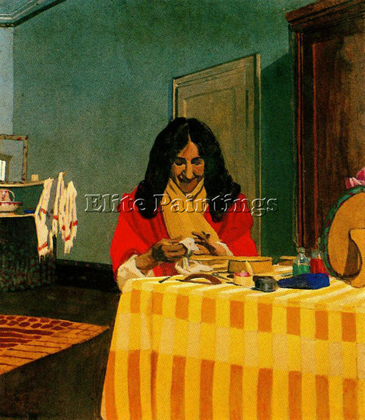 FELIX VALLOTTON CAPF762H ARTIST PAINTING REPRODUCTION HANDMADE CANVAS REPRO WALL