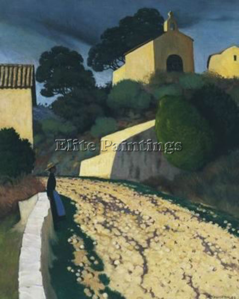 FELIX VALLOTTON CAUOQNMN ARTIST PAINTING REPRODUCTION HANDMADE CANVAS REPRO WALL