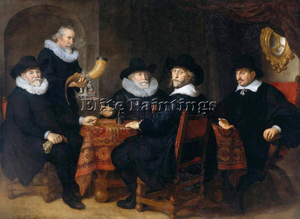 GOVERT TEUNISZ FLINCK 42GOV ARTIST PAINTING REPRODUCTION HANDMADE OIL CANVAS ART