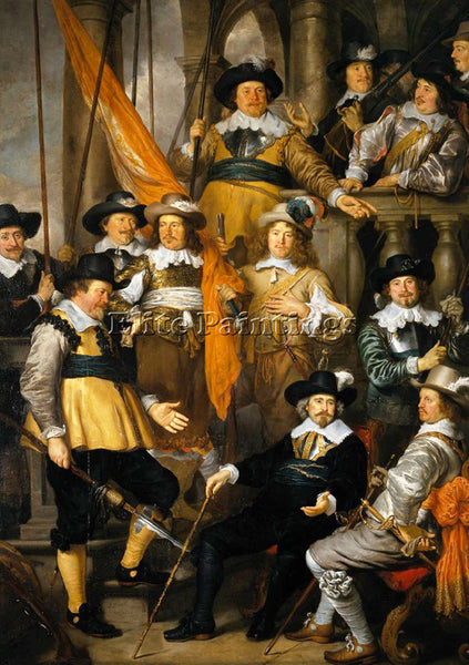 GOVERT TEUNISZ FLINCK 45BERT ARTIST PAINTING REPRODUCTION HANDMADE CANVAS REPRO