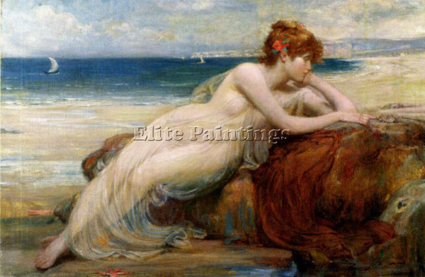 ROBERT FOWLER APHRODITE ARTIST PAINTING REPRODUCTION HANDMADE CANVAS REPRO WALL