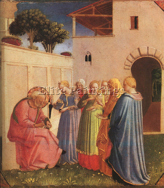 FRA ANGELICO FRA2 ARTIST PAINTING REPRODUCTION HANDMADE CANVAS REPRO WALL DECO