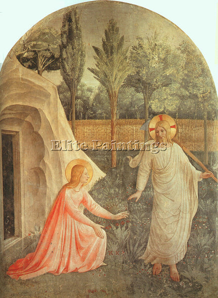 FRA ANGELICO FRA3 ARTIST PAINTING REPRODUCTION HANDMADE CANVAS REPRO WALL DECO