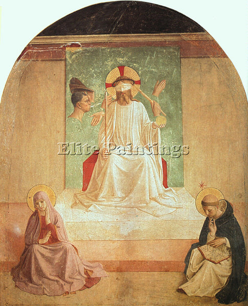 FRA ANGELICO FRA5 ARTIST PAINTING REPRODUCTION HANDMADE CANVAS REPRO WALL DECO