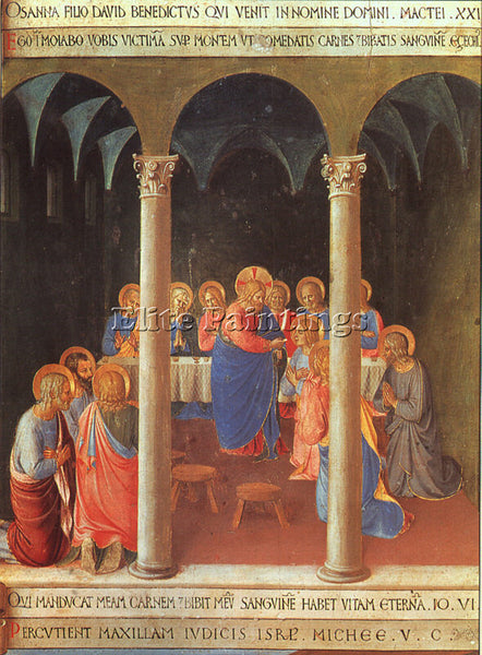 FRA ANGELICO FRA8 ARTIST PAINTING REPRODUCTION HANDMADE CANVAS REPRO WALL DECO