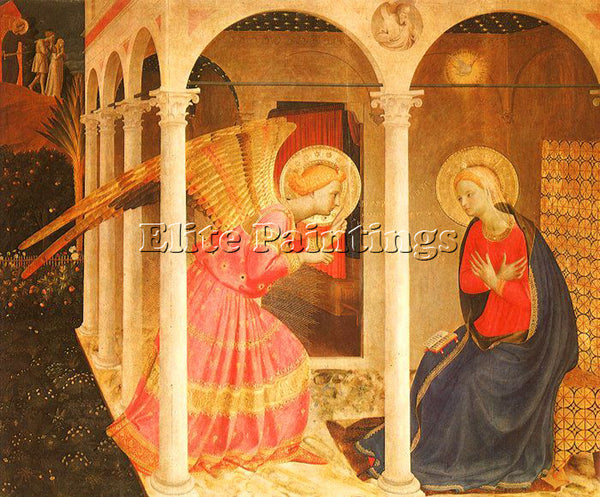 FRA ANGELICO FRA9 ARTIST PAINTING REPRODUCTION HANDMADE CANVAS REPRO WALL DECO