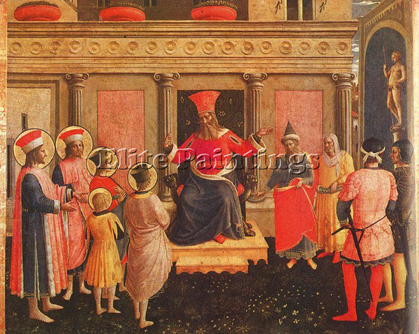 FRA ANGELICO FRA10 ARTIST PAINTING REPRODUCTION HANDMADE CANVAS REPRO WALL DECO
