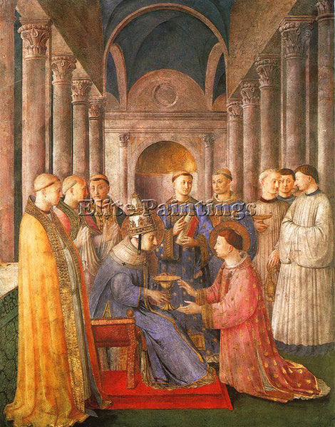 FRA ANGELICO FRA13 ARTIST PAINTING REPRODUCTION HANDMADE CANVAS REPRO WALL DECO