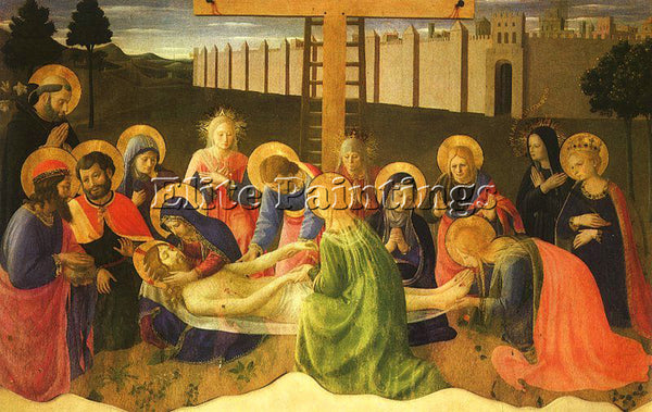 FRA ANGELICO FRA27 ARTIST PAINTING REPRODUCTION HANDMADE CANVAS REPRO WALL DECO