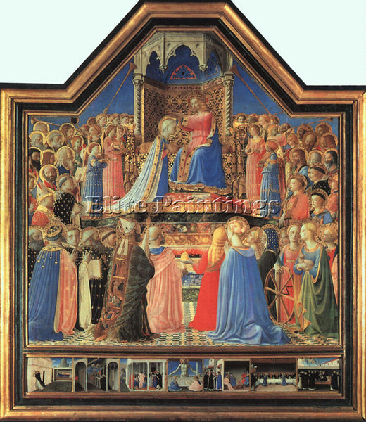 FRA ANGELICO FRA18 ARTIST PAINTING REPRODUCTION HANDMADE CANVAS REPRO WALL DECO