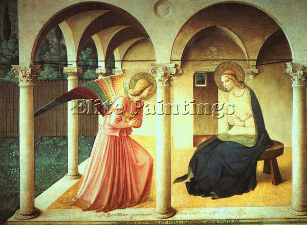 FRA ANGELICO FRA20 ARTIST PAINTING REPRODUCTION HANDMADE CANVAS REPRO WALL DECO