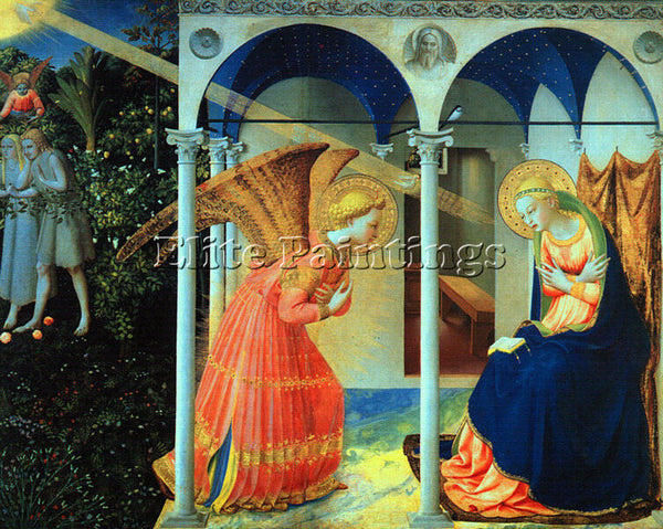 FRA ANGELICO FRA21 ARTIST PAINTING REPRODUCTION HANDMADE CANVAS REPRO WALL DECO