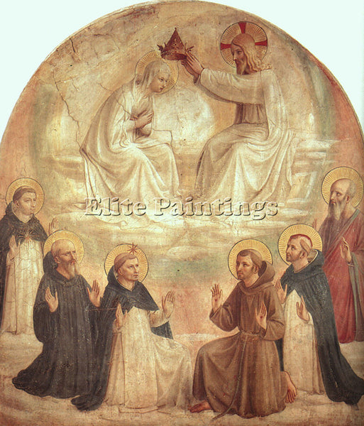 FRA ANGELICO FRA22 ARTIST PAINTING REPRODUCTION HANDMADE CANVAS REPRO WALL DECO