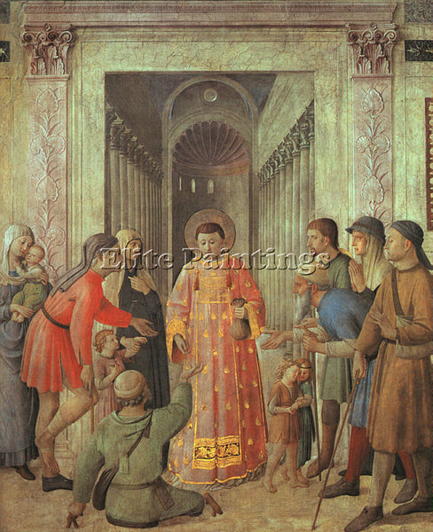 FRA ANGELICO FRA25 ARTIST PAINTING REPRODUCTION HANDMADE CANVAS REPRO WALL DECO