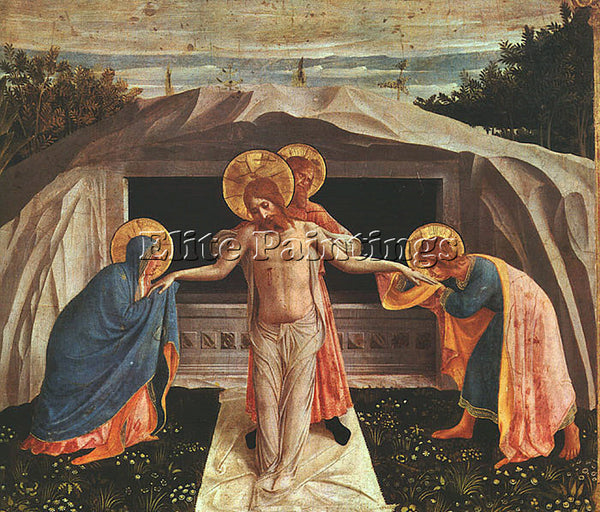 FRA ANGELICO FRA26 ARTIST PAINTING REPRODUCTION HANDMADE CANVAS REPRO WALL DECO