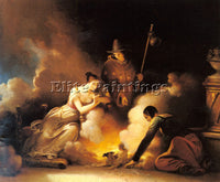 FRENCH FRAGONARD ALEXANDRE EVARISTE THE MAGICIAN ARTIST PAINTING HANDMADE CANVAS