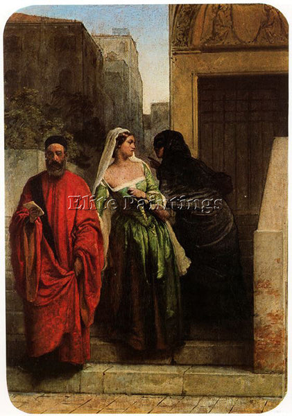 FRANCESCO HAYEZ HAYE31 ARTIST PAINTING REPRODUCTION HANDMADE CANVAS REPRO WALL