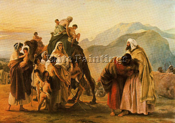 FRANCESCO HAYEZ HAYE34 ARTIST PAINTING REPRODUCTION HANDMADE CANVAS REPRO WALL