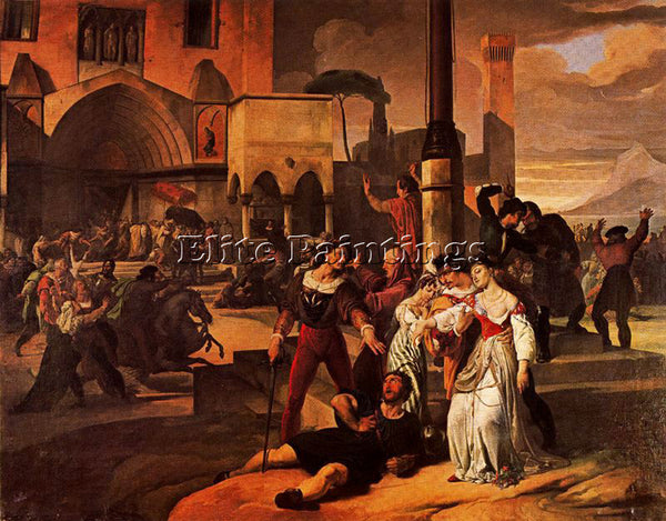 FRANCESCO HAYEZ HAYE37 ARTIST PAINTING REPRODUCTION HANDMADE CANVAS REPRO WALL