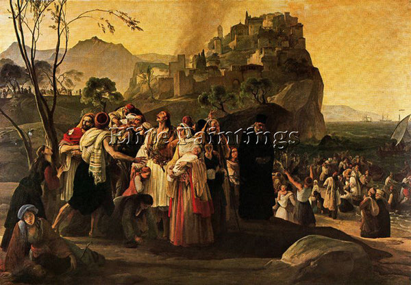 FRANCESCO HAYEZ HAYE42 ARTIST PAINTING REPRODUCTION HANDMADE CANVAS REPRO WALL