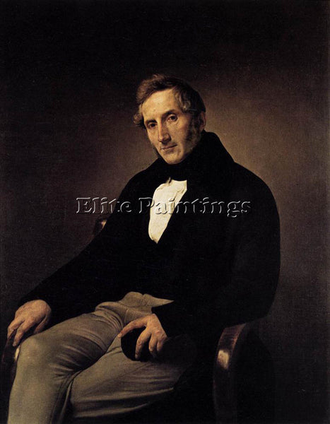 FRANCESCO HAYEZ PORTRAIT OF ALESSANDRO MANZONI ARTIST PAINTING REPRODUCTION OIL