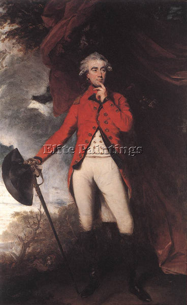 JOSHUA REYNOLDS FRANCIS RAWDON HASTINGS ARTIST PAINTING REPRODUCTION HANDMADE