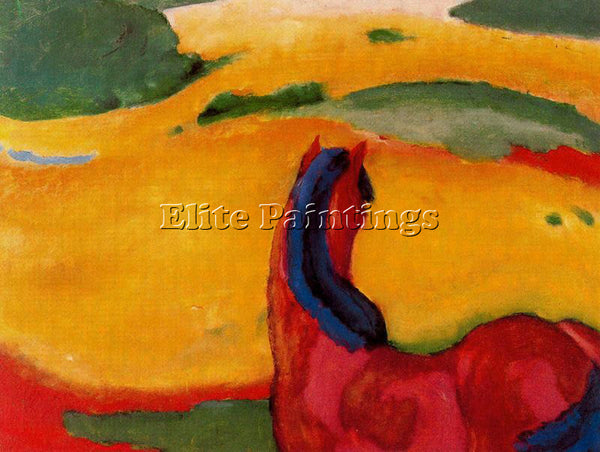 FRANZ MARC FMARC66 ARTIST PAINTING REPRODUCTION HANDMADE CANVAS REPRO WALL DECO